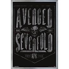 Avenged Sevenfold - Established Poster Framed Silver