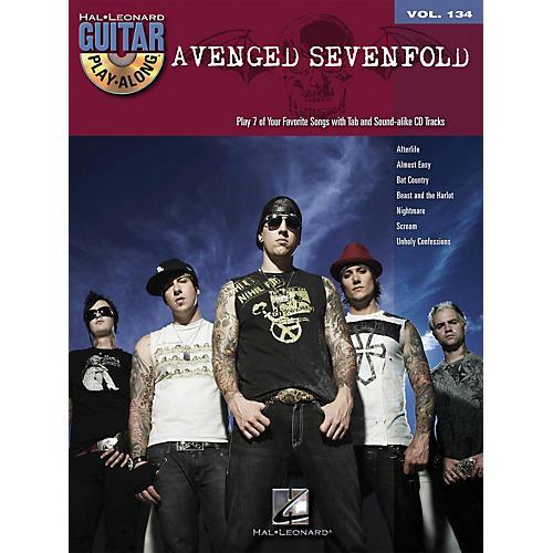 Hal Leonard Avenged Sevenfold - Guitar Play-Along Volume 134 (Book/CD)