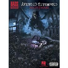 Hal Leonard Avenged Sevenfold - Nightmare Bass Tab Songbook