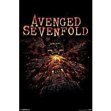 Trends International Avenged Sevenfold - Red Poster