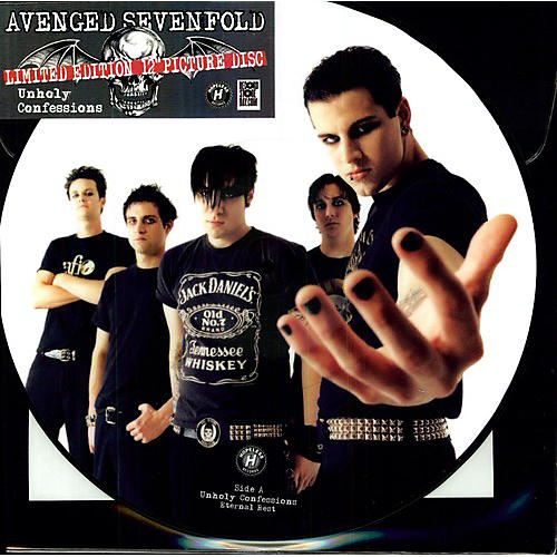 Alliance Avenged Sevenfold - Unholy Confessions (Picture Disc)