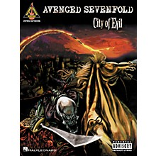 Hal Leonard Avenged Sevenfold City of Evil Guitar Tab Songbook