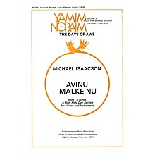 Transcontinental Music Avinu Malkeinu SATB composed by Michael Isaacson