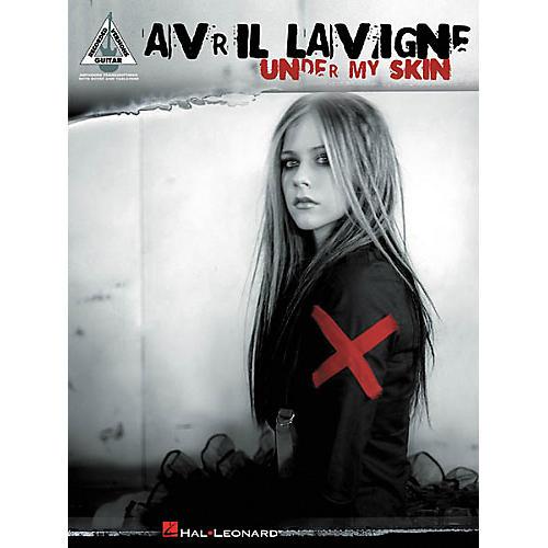 Hal Leonard Avril Lavigne Under My Skin Guitar Tab Songbook