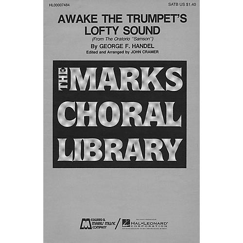 Edward B. Marks Music Company Awake the Trumpet's Lofty Sound SATB composed by George Friedrich Handel