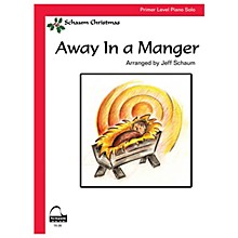SCHAUM Away In A Manger Educational Piano Series Softcover
