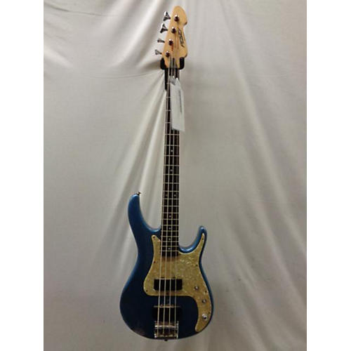 Peavey Axceleator 4 String Electric Bass Guitar Daphne Blue