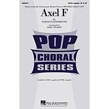 Hal Leonard Axel F (from Beverly Hills Cop) TTBB A Cappella Arranged by Deke Sharon