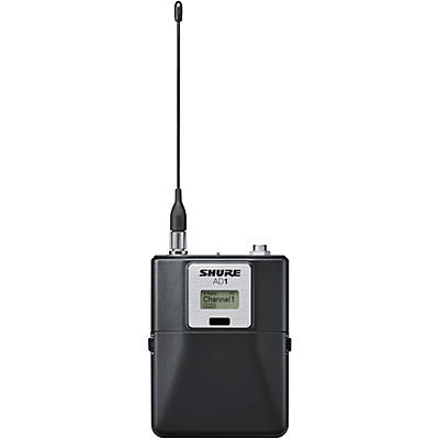 Shure Axient Digital AD1LEMO3 Wireless BodypackTransmitter, LEMO3 Connector