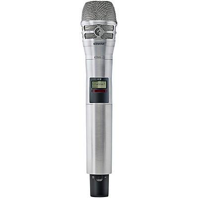 Shure Axient Digital AD2/K8N Handheld Wireless Transmitter with Nickel KSM8 Microphone