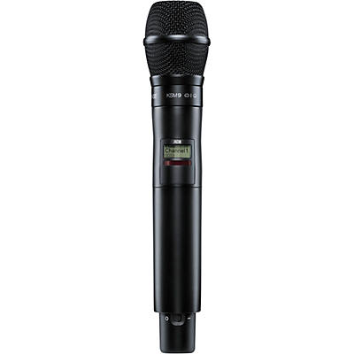 Shure Axient Digital AD2/K9B Handheld Wireless Microphone Transmitter
