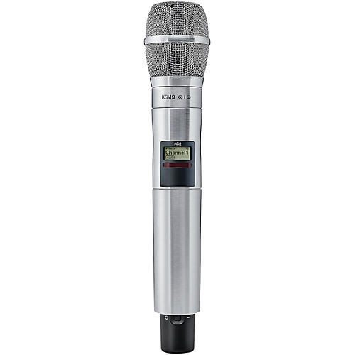 Shure Axient Digital  AD2/K9N Handheld Wireless Transmitter with Nickel KSM9 Microphone