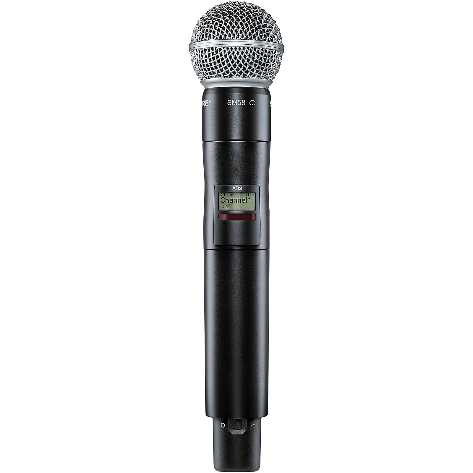 Shure Axient Digital AD2/SM58 Handheld Wireless Transmitter with SM58 Microphone