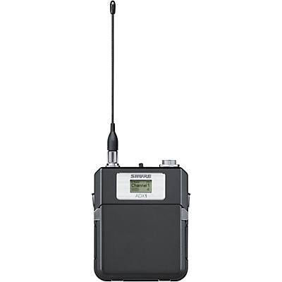 Shure Axient Digital ADX1 Bodypack Transmitter with TA4F connector