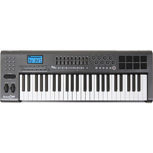 m audio axiom 49 49 key usb midi keyboard controller musician s friend rh musiciansfriend com m-audio axiom 49 user manual Axiom 25