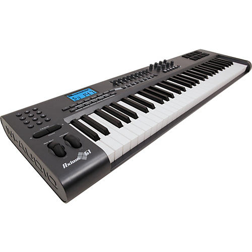 m audio axiom 61 61 key usb midi keyboard controller musician 39 s friend. Black Bedroom Furniture Sets. Home Design Ideas