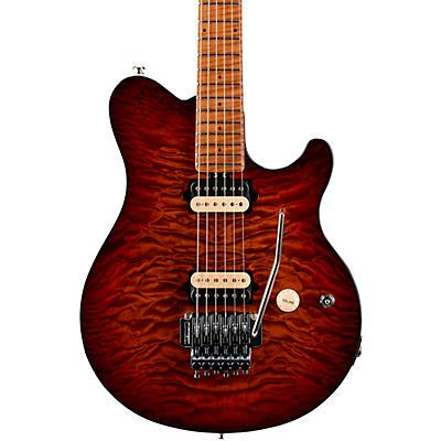 Ernie Ball Music Man Axis Quilt Top Electric Guitar