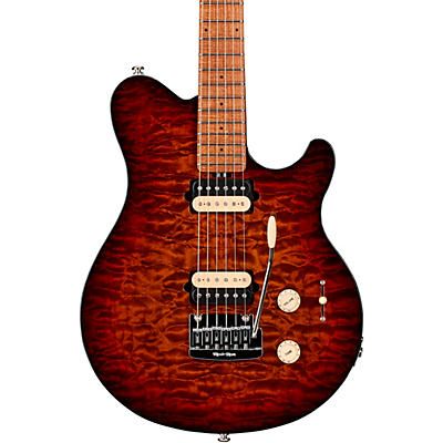 Ernie Ball Music Man Axis Super Sport Quilt Top Electric Guitar