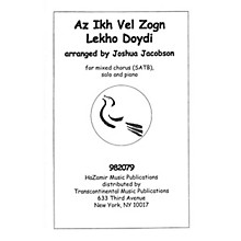 Transcontinental Music Az Ikh Vel Zogn Lekho Doydi SATB arranged by Joshua Jacobson