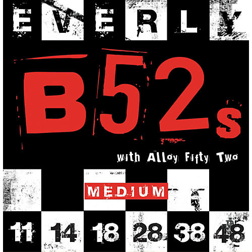 Everly B-52 Rockers Alloy Medium Electric Guitar Strings