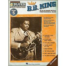 Hal Leonard B.B. King - Blues Play-Along Volume 5 Book/CD