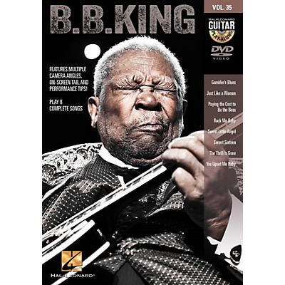 Hal Leonard B.B. King - Guitar Play-Along DVD Volume 35