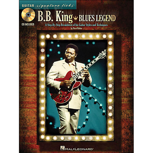 Hal Leonard B.B. King Blues Legend - Guitar Signature Licks Book/CD