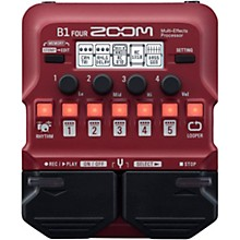 Open Box Zoom B1 FOUR Bass Multi-Effects Processor