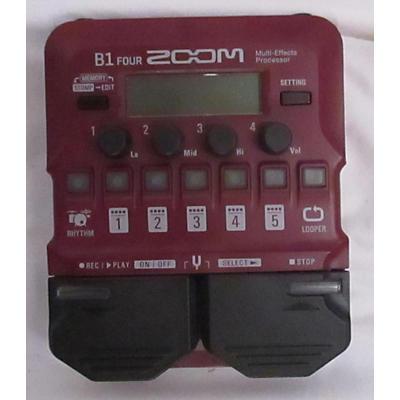 Zoom B1 Four Effect Processor