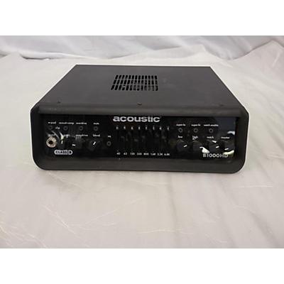 Acoustic B1000 HD Bass Amp Head