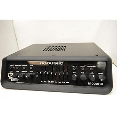 Acoustic B1000HD Bass Amp Head