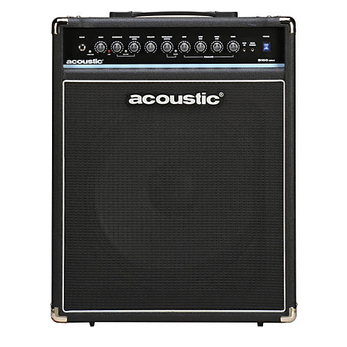 acoustic b100mkii 100w bass combo amp musician 39 s friend. Black Bedroom Furniture Sets. Home Design Ideas