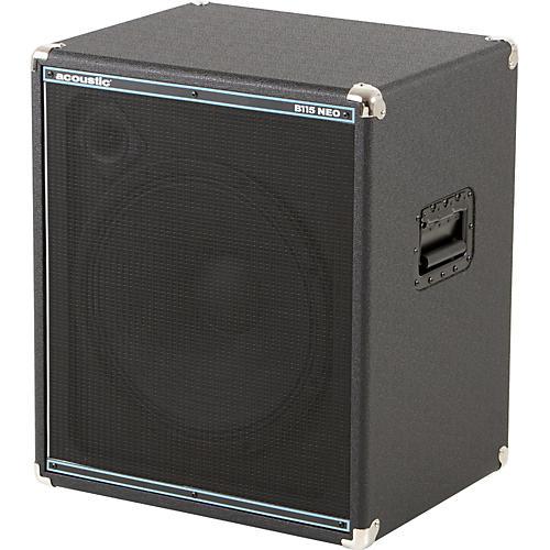 acoustic b115neo 1x15 bass speaker cabinet musician 39 s friend. Black Bedroom Furniture Sets. Home Design Ideas