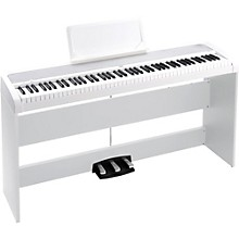 B1SP 88 Keys Digital Piano with Stand and 3-Pedal Unit White