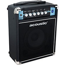 Acoustic B25C 1X8 25W Bass Combo with Tilt-Back Cab
