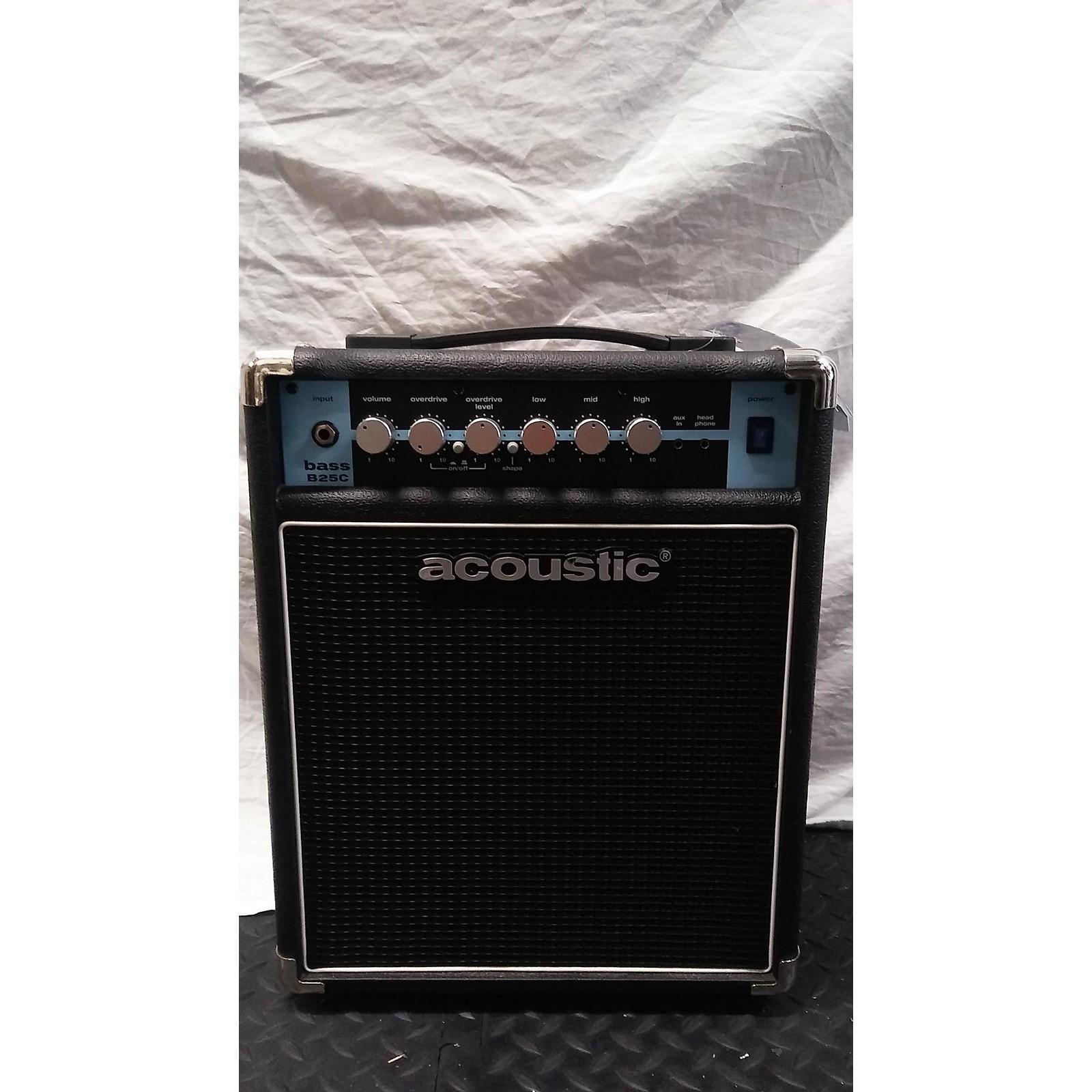 Acoustic B25C Bass Combo Amp