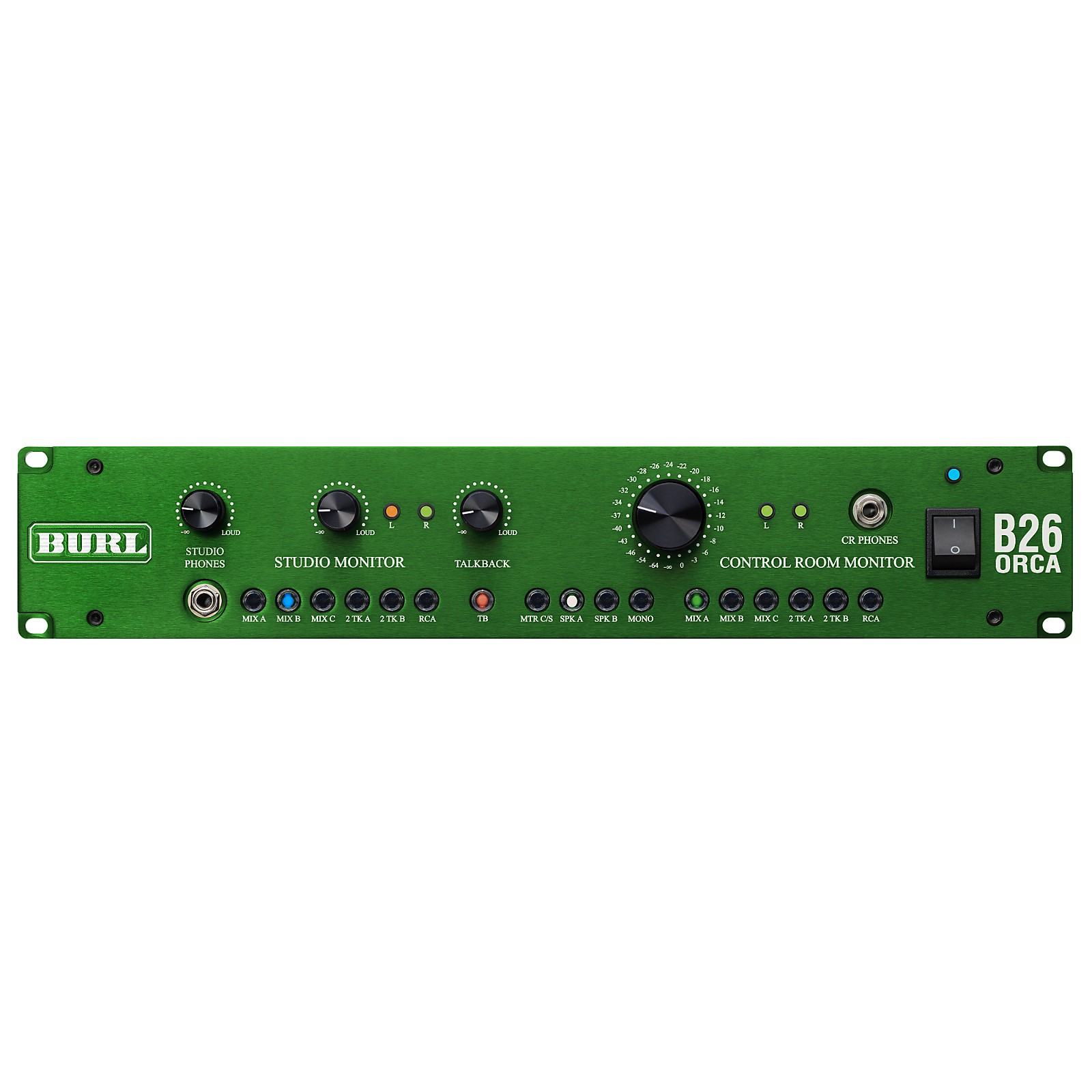 Burl Audio B26 Orca 6 Stereo Input Control Room Monitor