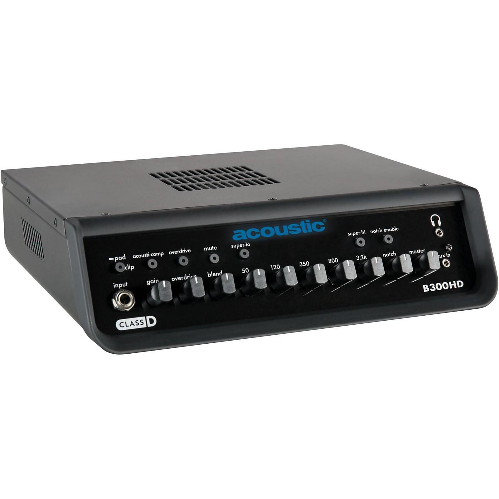 Acoustic B300HD 300W Bass Amp Head