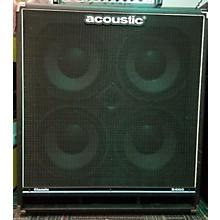 Acoustic B410C 4X10 400W Bass Cabinet