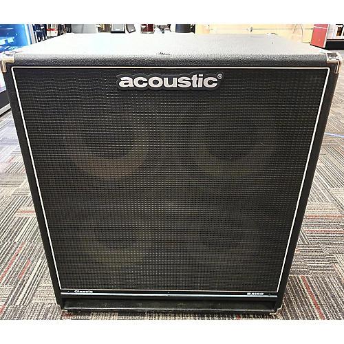 B410C 4X10 400W Bass Cabinet