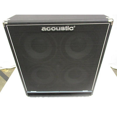 Acoustic B410C 4X10 400W Bass Cabinet