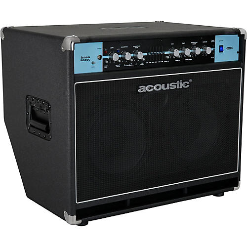 Acoustic B600C 2x10 600W Bass Combo with Tilt-Back Cabinet Condition 1 - Mint