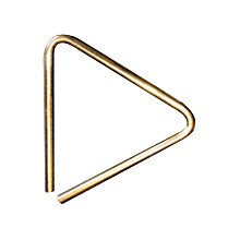 B8 Bronze Band and Orchestral Triangles 6 in. Triangle