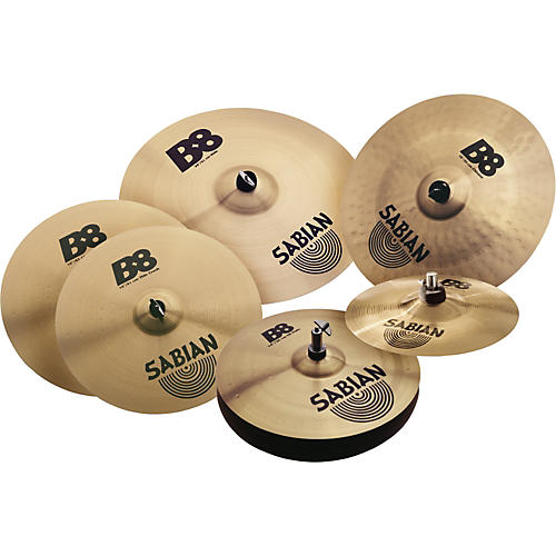 sabian b8 complete cymbal set musician 39 s friend. Black Bedroom Furniture Sets. Home Design Ideas