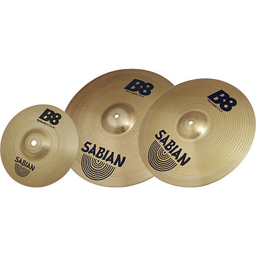 sabian b8 crash cymbal pack musician 39 s friend. Black Bedroom Furniture Sets. Home Design Ideas