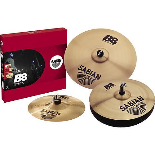 sabian b8 cymbal 2 pack plus free splash cymbal musician 39 s friend. Black Bedroom Furniture Sets. Home Design Ideas