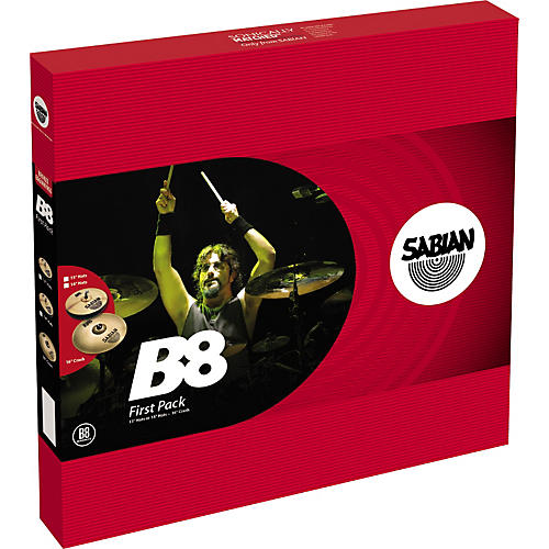 Sabian B8 Cymbal First Pack with 14