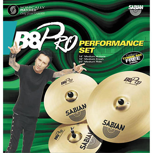 Sabian B8 Pro Cymbal Performance Pack