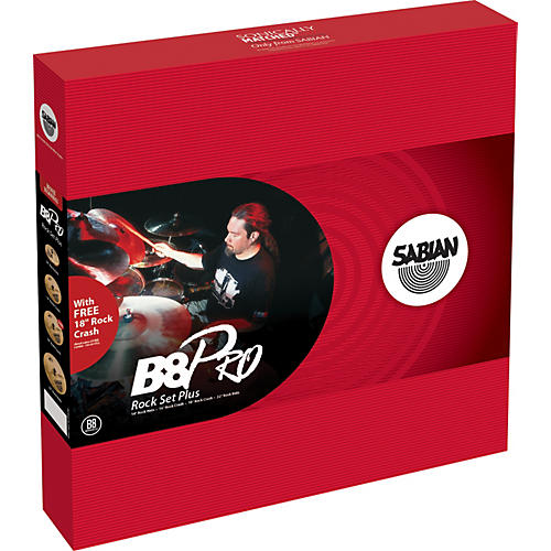 Sabian B8 Pro Rock Set Plus