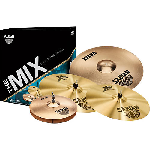 sabian b8 xs20 mix cymbal pack musician 39 s friend. Black Bedroom Furniture Sets. Home Design Ideas